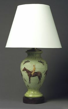 Jockey Lamp via Dovecote Decor