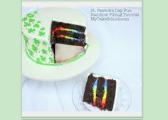 Surprise inside St. Patrick's Day cake