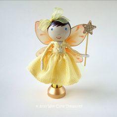 Idea for a clothes peg fairy