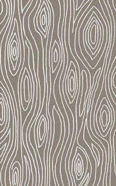 faux bois rug
