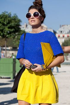 Spring 2013: Go Bright #fashion #color #block #inspiration