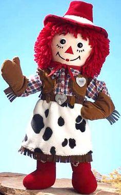 Raggedy Ann cowgirl