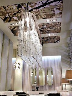 Fabulous waterfall chandelier