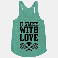 Celebrate your love of tennis (and your love of new beginnings) with this clever tank ($29) from Human.