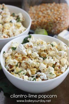 35 Sweet & Savory Popcorn Recipes sweetbellaroos.com. My top two to try: cilantro-lime and sea salt-honey glazed popcorn