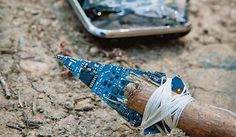 Saved by...a cell phone. Turn your iPhone into a survival tool.