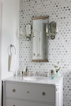 gorgeous tiled wall