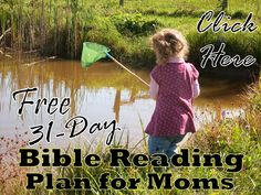 Free 31-Day Bible Reading Plan for Moms
