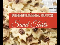 Pennsylvania Dutch Sand Tarts