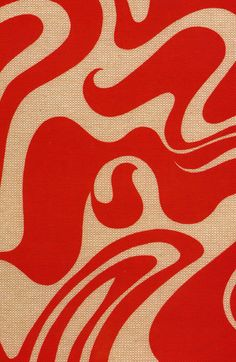 #yearofpattern florence broadhurst, curly swirls