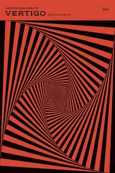 Alfred Hitchcock - Vertigo - (poster alternativo)