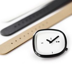 Stone watch by Denis Guidone for NAVA. Available at Dezeen Watch Store: www.dezeenwatchstore.com #watches