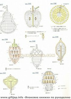 croche-graficos-tejer-crochet-вязанье-szydełkować-häkeln
