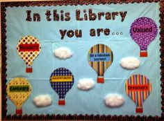Library Displays: In this library you are ...