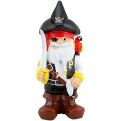 Pittsburgh Pirates Team Mascot Gnome