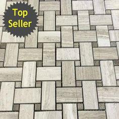 stone tile mosaics on pinterest glass tiles marble
