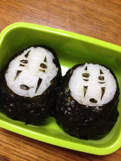 No-Face Spirited Away Bento Box Recipe