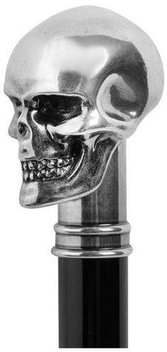 Alexander McQueen Skull Handle Cane - Lyst