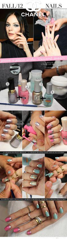 Chanel Fall 2012 nails