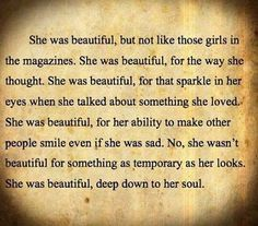 Beautiful soul. I know just a handful of people like this.