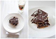 Salted Toffee Matzah recipe - his toffee candy is very similar to something that I make at Christmas (see, I told you we celebrate them all) called Harper's Surprise.  Instead of Saltines, you use matzah.  Brilliant.  Why didn't I think of this years ago? #matzah #Passover #dessert #holiday