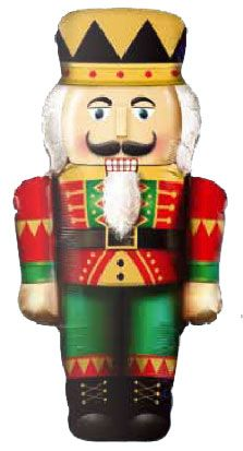 "33"" Nutcracker Balloon -Nutcracker Ballet Gifts website $8.50"