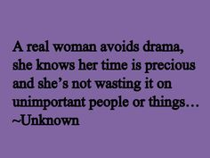 A real woman...
