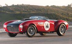 Lot No. 338: 1953 Ferrari 375 MM Spider by Pinin Farina