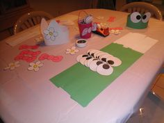 Hello Kitty headbands for the girls and Keroppi ones for the boys.