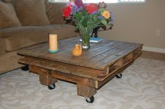 Full Pallet Coffee Table