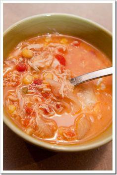Several crockpot soups