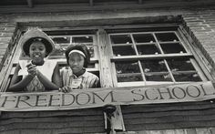 freedom school, schools, civil rights, freedom summer, colleg student, black voter, black children, educ black, black histori