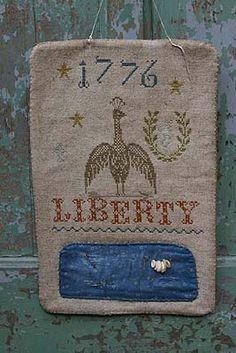 LIBERTY 1776 HANGING PINKEEP - Stacy Nash Primitives