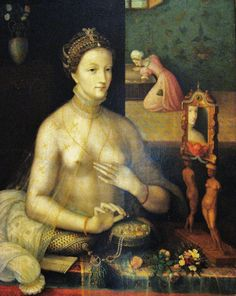 François Clouet (French artist, 1510-1572) Woman at her Toilette