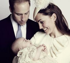 William, Kate and George