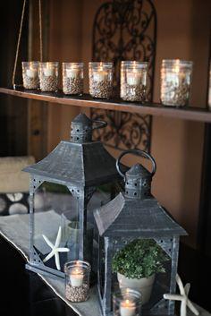 My latest project for @HGTV... an easy-to-make outdoor chandelier! http://www.thetomkatstudio.com/hgtvoutdoorchandelier