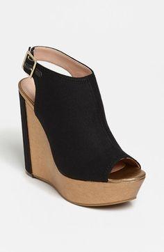 Julianne Hough for Sole Society 'Erinn' Wedge Sandal | Nordstrom