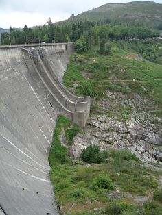 Dam in Geres, Portugal