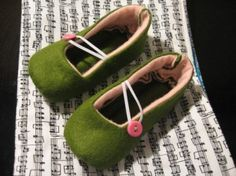 Homemade shoes for kids. This is on etsy but I want to try to make them.