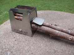 Element Wood burning Stove - lightweight for backpacking / camping