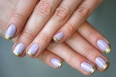 20 Gorg Gold Manis to Give You the #MidasTouch via Brit + Co.
