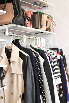 How to create a gorgeous closet in a small NYC apartment
