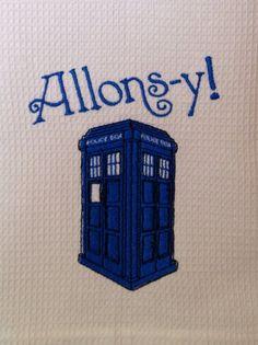 Doctor Who Hand Towel