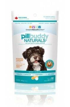 New and improved! Pill Buddy Naturals make feeding medication a rewarding and easy experience for you and your pet. www.fortailsonly.com/annsavesus