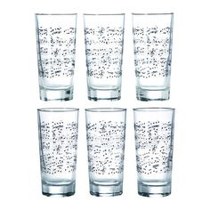 music note glasses @ Ikea
