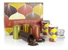 Enlightened Chai Gift Collection, $79.95 at teavana.com.