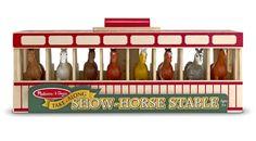 Melissa & Doug Show-Horse Stable:Amazon:Toys & Games