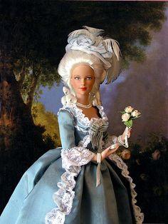 Historical dolls Marie Antoinette