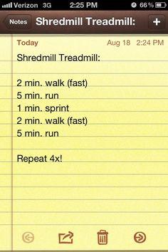 shredmill treadmill.