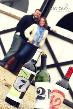 Wine + Wedding save the dates!